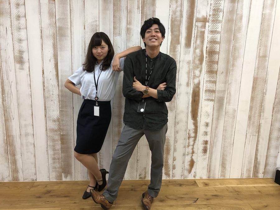 遠藤、佐藤(マーケティング、クリエイティブ)